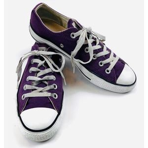 Converse All Star Chuck Taylor Sneakers Purple  7